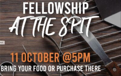 Fellowship at The Spit Oct 11