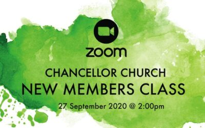 New Members Class 27 Sep.