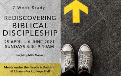 Rediscovering Biblical Discipleship