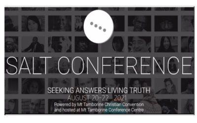 SALT Conference – August